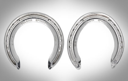 Vulcan Sprint Wide Web Aluminium Horseshoes