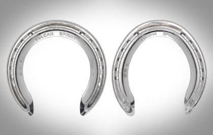 Vulcan Sprint Wide Web Aluminium Horseshoes